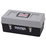SHUTER Tools Storage Box [TB-102] - Grey/Black - Box Perkakas